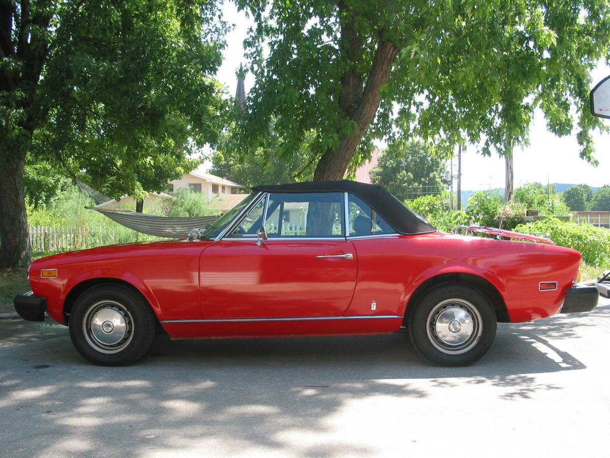 1978 Fiat 124 Spider For Sale Dream Of Driving 1970 Convertible